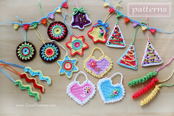 Crochet Pattern - Big Crochet Christmas Party