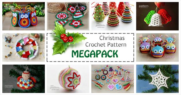 Christmas Crochet Pattern Megapack