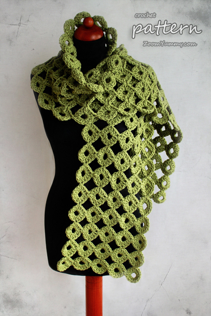 Chunky Joy Joy Scarf Pattern No 050 Zoom Yummy Crochet Food