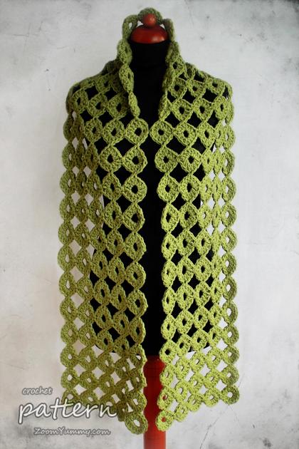 Crochet Pattern - Chunky Joy-Joy Scarf