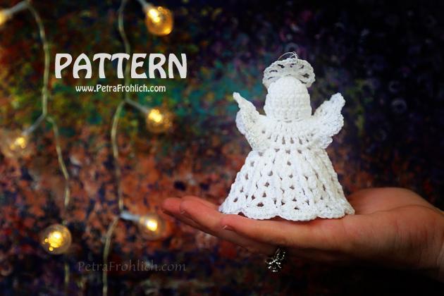 Crochet Pattern - Crochet Angel Ornaments
