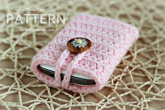 Crochet Pattern - Crochet Cell Phone Cover