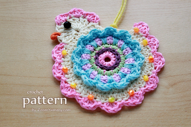 Crochet Pattern - Happy Crochet Chick