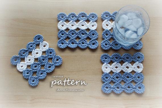 Crochet Pattern - Joy Joy Coasters