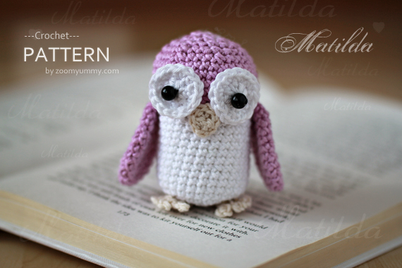 Crochet Pattern - Matilda The Owl
