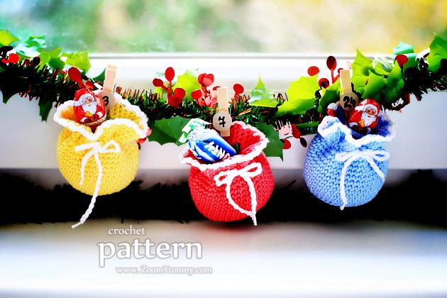 Crochet Pattern - Mini Crochet Pouches