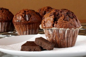 Chocolate Chunk Muffins recipe with step by step pictures and list of ingredients, pictures, ingredients, images, domes muffins, perfect muffins, moist chocolate muffins