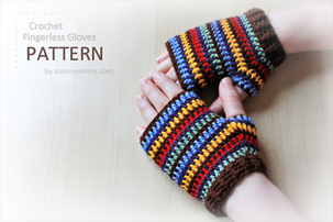 Crochet Fingerless Gloves - Buzzle Web Portal: Intelligent Life on