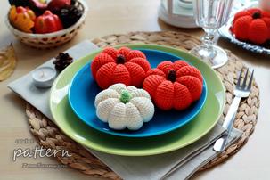 crochet pattern - crochet pumpkins