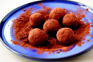 cookie crumb chocolate truffles