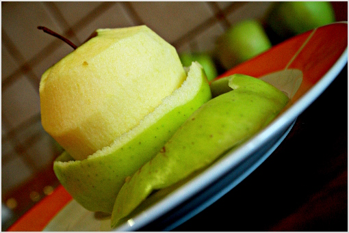 mini apple pies recipe with step by step pictures, ingredients, Thanksgiving pies, Thanksgiving recipe, Holiday recipes, peel the apples, core them and cut them into teeny tiny dices, place the dices into a bowl