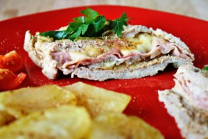 pork with cheese and rosemary recipe with step by step pictures, ingredients, pictures, recipe