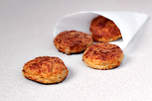 bacon and cheese biscuits recipe with step by step pictures