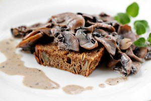 mushroom ragout on garlic toast recipe with step by step pictures, mushroom ragout, mushroom sauce, recipe ingredients, pictures, images