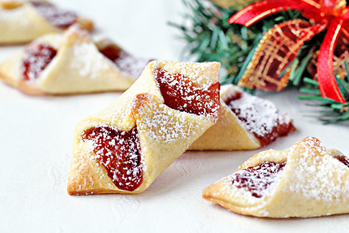 Christmas Bowtie Cookies recipe with step by step pictures