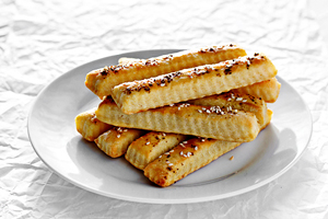 cream cheese straws recipe with step by step pictures and list of ingredients, homemade bread straws with cream cheese, recipe, ingredients, pictures, images