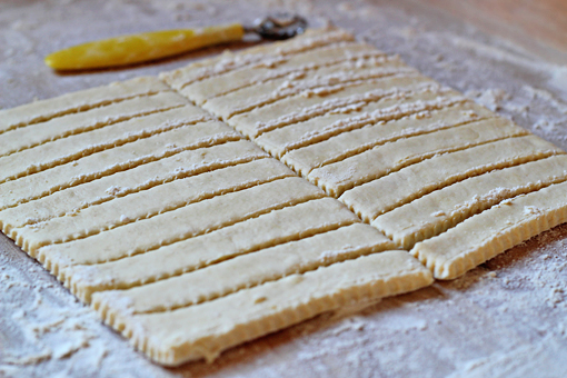 cream cheese straws recipe with step by step pictures