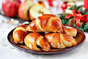 rolls with poppy seed filling recipe with step by step pictures, ingredients, pictures, recipe, ingredients