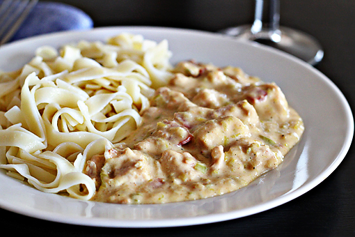 chicken Stroganoff recipe with step by step picture tutorial