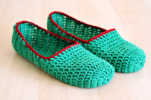Simple Crochet : to Make Simple Crochet Slippers ? Crafts ? Zoom Yummy - Crochet