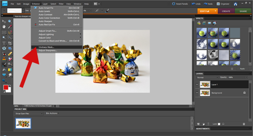 how to sharpen images with Photoshop step by step tutorial with pictures