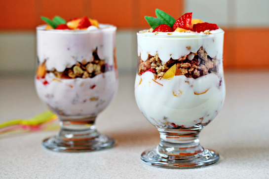 Fruit And Yogurt Parfait Recipe