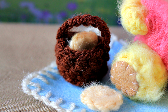 crochet mini teddy bears pdf pattern step by step picture tutorial