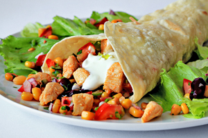 chicken burritos recipe with step by step pictures and list of ingredients, homemade chicken burritos recipe, delicious, simple, easy