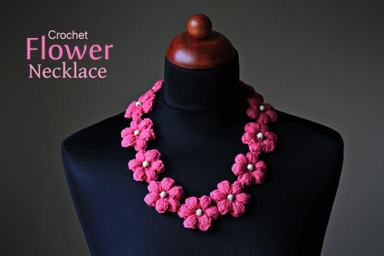 Erin Compton Design: Crochet Flower Necklace