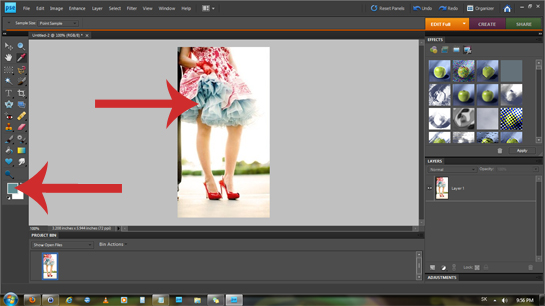 How to Copy a Color from a Picture Photoshop step by step picture tutorial