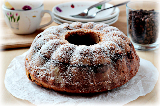 Marbled coffee bundt cake recipe. Then turn out onto a plate or onto foil.