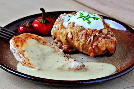 Scalloped hasselback potatoes step by step picture recipe.