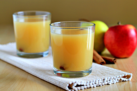 hot spiced apple cider recipe with step by step pictures, rum, nutmeg ...