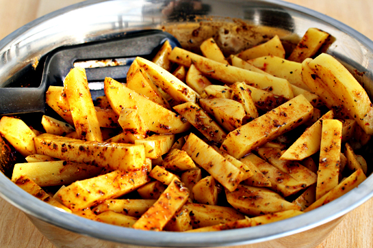 man approved spicy oven baked french fries 11 - ~*~ Winner of Cooking Cuisine  comp May ~*~
