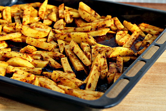 man approved spicy oven baked french fries 121 - ~*~ Winner of Cooking Cuisine  comp May ~*~