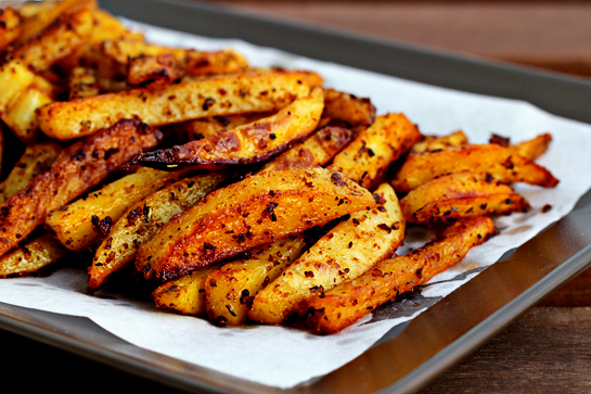 Man-Approved Spicy Oven Fries « Recipe « Zoom Yummy – Crochet ...