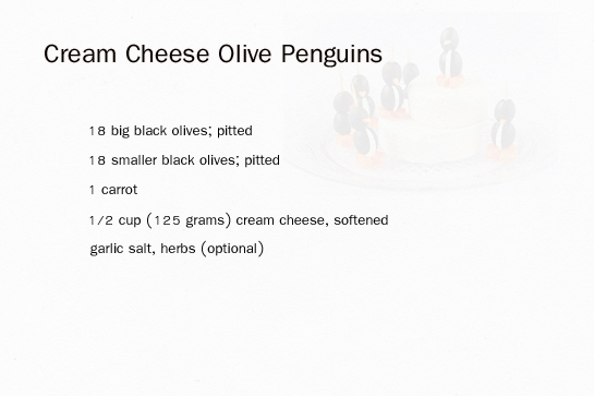 cream-cheese-olive-penguins-ingredients