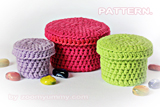 crochet gift boxes pattern