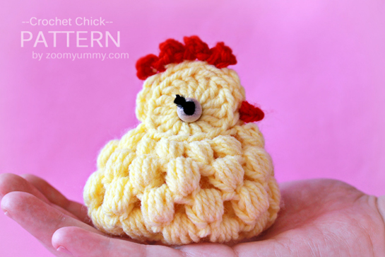 Free Crochet Pattern Easter Chick Pakbit For