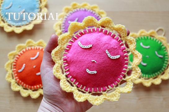 Crochet Happy Little Suns