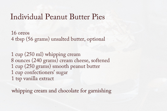 individual-peanut-butter-pies-ingredients