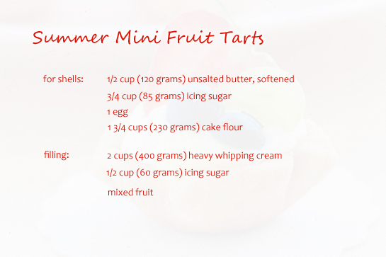summer-mini-fruit-tarts-ingrediets