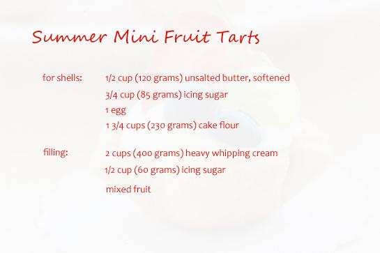 summer-mini-fruit-tarts-ingrediets
