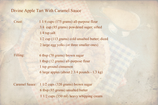 apple-tart-with-caramel-sauce-recipe-ingredients
