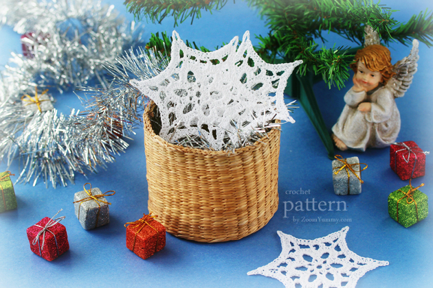 crochet-pattern-Christmas-crochet-snowflake-star