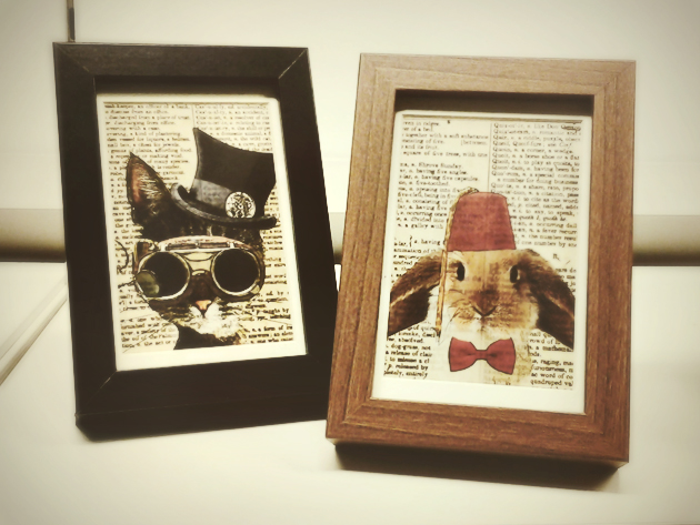 ikea wooden photo frames