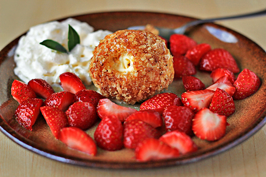 fried ice cream recipe