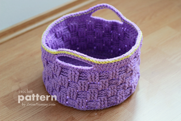 Free Printable Crochet Basket Patterns : New Pattern ? Big Crochet Baskets Crochet Zoom Yummy ...