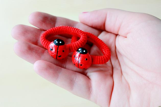 ladybird rubber band