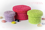Crochet Boxes
